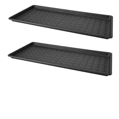Ikea Schuhbehälter für die Tür, waschbar, 71 x 35 x 3 cm, 2 Stück, Grau