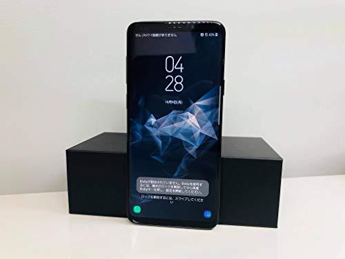 SAMSUNG(サムスン) GALAXY S9+ 64GB ミッドナイトブラック SCV39 auロック解除SIMフリー
