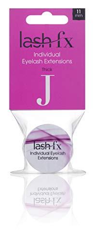 Lash FX J Curl - Pestañas gruesas (0,15 x 12 mm, 22 g)