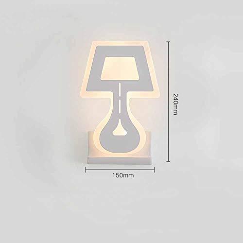 meimie00 Led-binnenlamp, modern led-licht wandlamp voor boven en onder lampen, spotlicht, wandlamp voor slaapkamer, woonkamer, gang