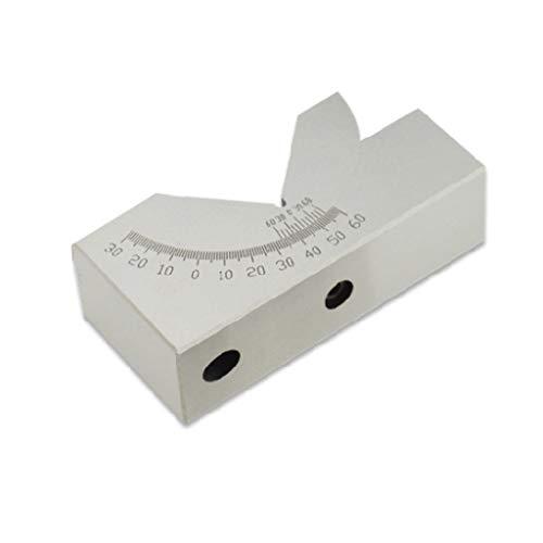 William-Lee AP30 Medidor de ángulo ajustable V-Block Precisión 0 a 60 grados para fresadora