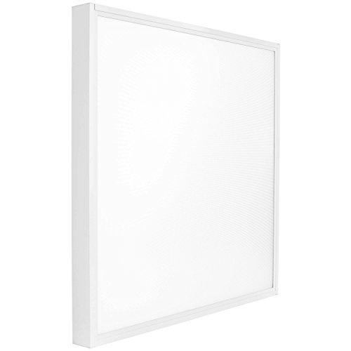 Lumira LED Panel 62x62 cm, 50W, Warmweiß, Aufbauleuchte, Aufputz-Rahmen, Blendfrei inkl. Trafo