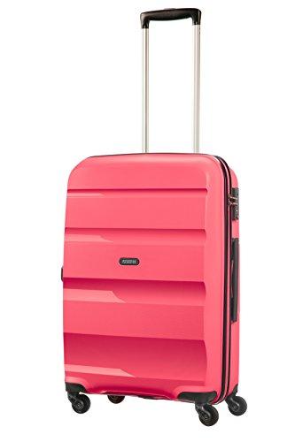 American Tourister Bon Air - Equipaje de mano, Rosa (Fresh Pink), M (66cm-57.5L)
