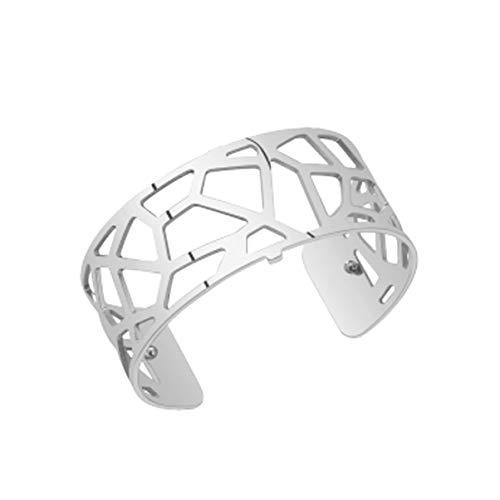 Les Georgettes GIRS25 Damen Armreif Giraffe Metall Silber
