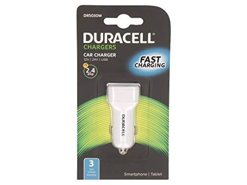 Duracell DR5030W USB-oplader, 12 V