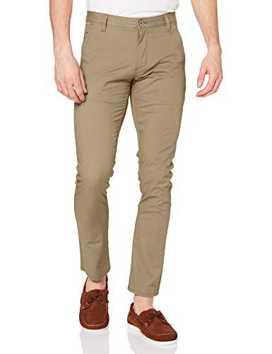 Dockers Herren Hose Alpha Original Khaki Skinny-Tapered Twill, Braun (C00086 New British 0150), W36/L32 (Herstellergröße: 36 32)