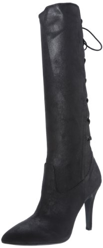 Hot Sale BCBGeneration Women's Erinn Knee-High Boot,Black Suede,7.5 M US