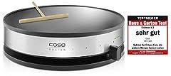 Caso 2930 CM 1300 Design Naleśniki Maker z bardzo dużą powierzchnią smażenia, średnica 33 cm, 1300 W