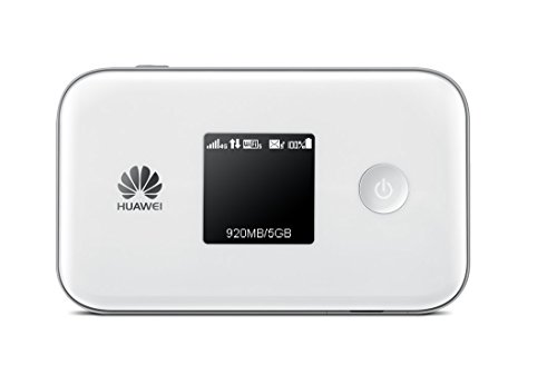 Huawei E5377TS-32 150 Mbps 4G LTE & 42 Mbps 3G Mobile WiFi Hotspot (4G LTE in Europe, Asia, Middle East, Africa & 3G globally. 3560mAh battery!) (White)