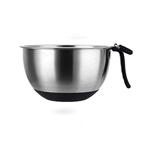 Mixing Bowls|Stainless Steel Mixing Bowls Stirring Bowl Salad Bowl Stainless Steel Anti-skid Base Mixing Bowl Thickening Anti-drop Mixing Bowl Soup Bowl Cooking Baking And Food Storage