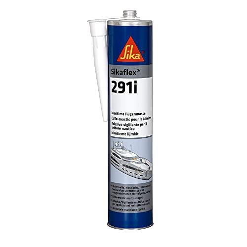 Sikaflex 291i, adesivo sigillante multifunzionale per applicazioni in campo nautico, sigillature elastiche e resistenti alle vibrazioni, adatto per una varia gamma di sigillature interne 300ml, Bianco