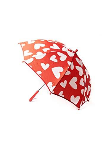 Paraguas Infantil Agatha Ruiz de la Prada Rojo de Corazones