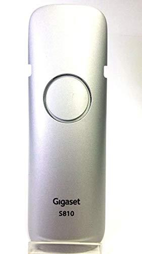 Akkufachdeckel für Siemens Gigaset S4 Professional,S79, S79H, S810, Farbe:Silber, Originalware, NEU