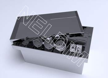 Einbausteckdose, Fußbodendose, Bodensteckdose Edelstahl V2A 3 Steckdose 230V + 2 Anschluss