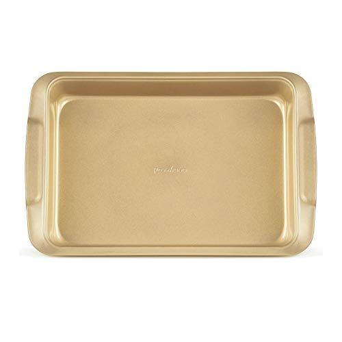 ROSMARINO Bandeja para Hornear 40x26x6,5 cm - Bandeja para Pasteles, Plato para Lasaña con Revestimiento Antiadherente - Ideal para Preparar Alimentos con Poca Grasa