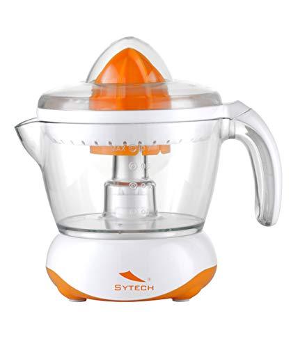 SYTECH SY-EX04 Exprimidor de 700ML,Rotación 2 sentidos, 25W. de Color Naranja