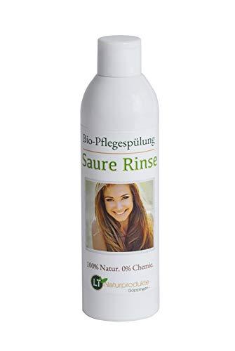 Conditioner Bio | Saure Rinse | chemiefreie Pflegespülung mit Zitrusduft | tensidfrei | silikonfrei | vegan | 250ml | Sauerrinse | Sauerspülung | Naturspülung | Essigrinse