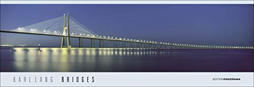 Bridges Panorama Infinity: Immerwährender Panorama-Kalender in 1,60 Meter Breite