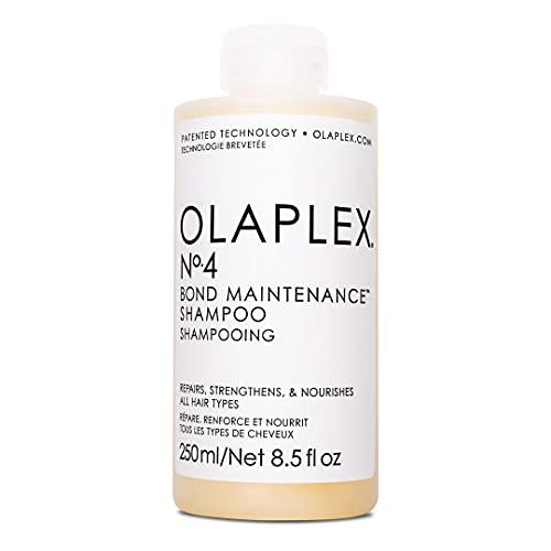 OLAPLEX No. 4 Champú De Mantenimiento De Enlaces Capilares, Único, Cedar, 250 Mililitro