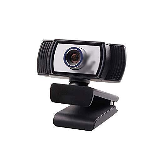 Wdonddonsxt Webcam 1080P HD Webcam con micrófono estéreo, cámara Web USB de la cámara Mini computadora Micrófono Incorporado, Flexible rotativo del Clip, for los Ordenadores portátiles, de Escritorio