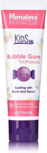 Himalaya Herbal Kids Toothpaste, Bubble Gum, 113 g