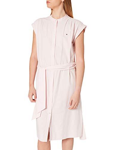Tommy Hilfiger Damska oksfordzka sukienka na kolana Ns Casual