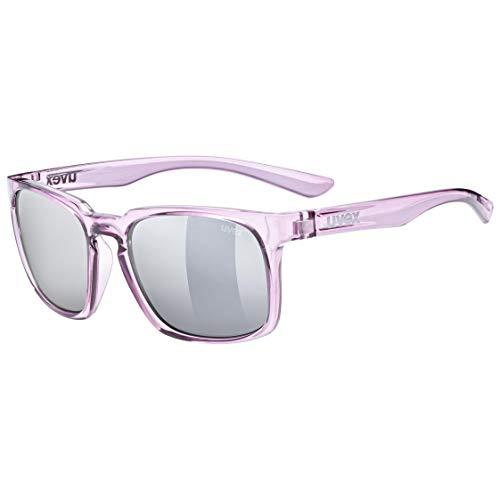 uvex Unisex– Erwachsene, lgl 35 Sonnenbrille, berry crystal/silver, one size