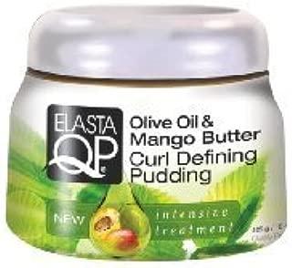 Elasta Qp Olive Oil & Mango Butter Curl Defining Pudding 15oz