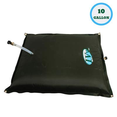 Ivy Bag Portable Water Bladder - Collapsible and Durable Water Tank (10 Gallon)
