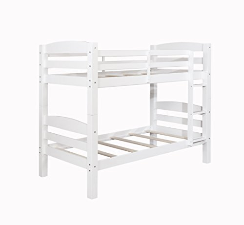 Powell Levi White Twin Bed Bunk