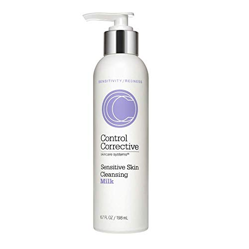 Control Corrective Sensitive Skin Cleansing Milk   Creamy, Calming Cleanser to Remove Make-Up & Daily Build Up Without Stripping the Skin   6.7 oz