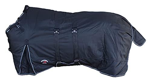 DWJ 1200D Turnout Waterproof Horse Winter Blanket Heavy Belly Band