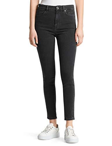 Marc Cain Sports Damen MS 82.72 D20 Skinny Jeans, Schwarz (Black 900), W32 (Herstellergröße: 5)
