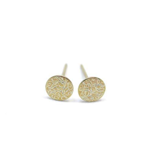 Titan Ohrringe. Absolut kein Risiko auf Allergien Handgefertigte Schmuckstücke. Lieferbar in verschiedenen Farben