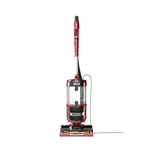 Shark ZU561 Navigator Lift-Away Speed Self Cleaning Brushroll Lightweight Upright Vacuum with HEPA Filter, Red Peony
