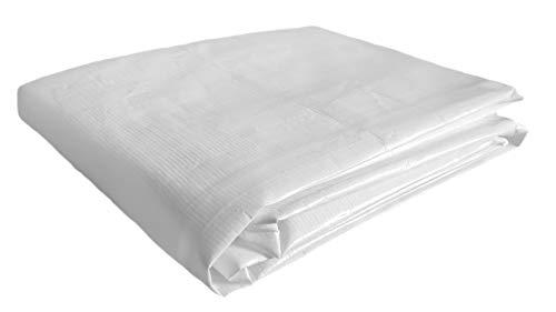 Umbettungstuch Kunststoff 1 Stück Weiß 70 x 200 cm
