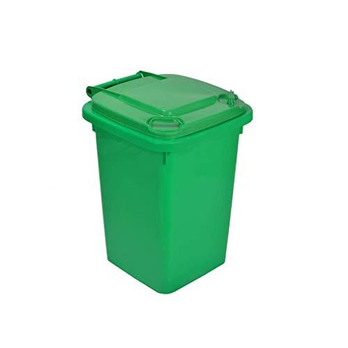 Garbage Stam industriële opslagunit Bin verdikte kunststof met deksel afvalemmer buiten inwendig inbouw afvalemmer keuken huishouden vuilnisbak (kleur: B maat: 30L) 50l-a