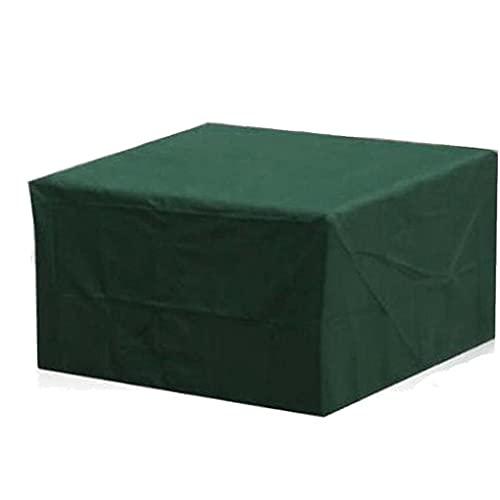 Cubierta Protectora Muebles de jardín Rectangular Cubierta de jardín Mesa, Resistente a la Intemperie Anti-UV terraza Cubierta, Impermeable y Transpirable de poliéster