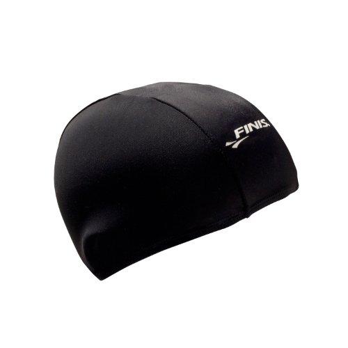 Spandex Swim Cap Black