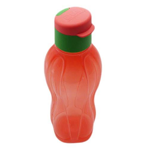Tupperware to Go Eco - Botella ecológica (750 ml), color salmón/verde
