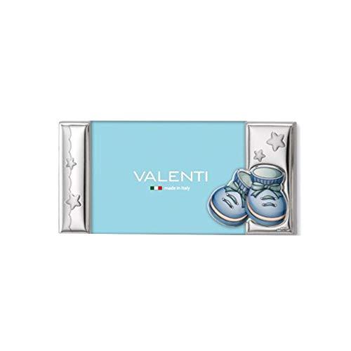 Fotolijsten Bimbo lichtblauw laminaat zilver afmeting 13 x 9 Valenti 73201/3C