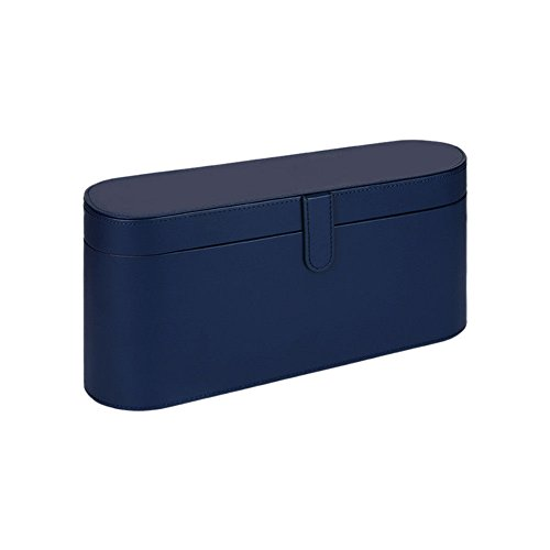 Meijunter (Bleu) PU Cuir Boîtier Sac pour Supersonic Sèche-Cheveux,Spécial Édition Voyage Sac Box Cas Anti-Rayures Housse Sacoche de Transport