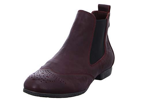 Think! Damen EBBS_383136 Chelsea Boots, Rot (34 Chianti), 41.5 EU