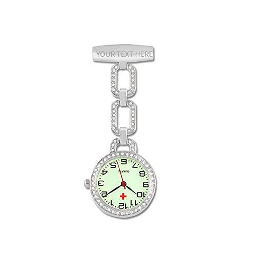 Herren Damen krankenschwesteruhr personalisierte Taschenuhr, Krankenschwesteruhr/Taschenuhren/Quarzwerk schwesternuhr, Krankenschwester zubehör