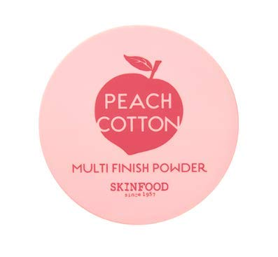 Skin Food Peach Cotton Multi Finish Powder 15g (Hautfutter Pfirsich Fertigpulver)