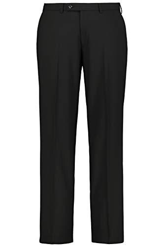JP 1880 Homme Grandes Tailles Pantalon de Costume Coupe Droite ZEUS Noir 62 705533 10-62