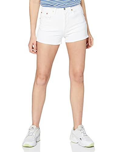 Levi's 501 High Rise Short Pantalones Cortos, Blanco (In The Clouds 0025), W29 (Talla del Fabricante: 29) para Mujer