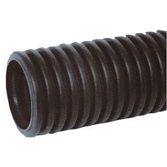 Flexibles Wellrohr DX15020-25, Elektroinstallationsrohr gewellt M20 schwarz, Länge 25 Meter