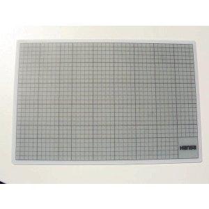 Preisvergleich Produktbild Hansa Schneidunterlage Cut Mat 45x30cm transparent