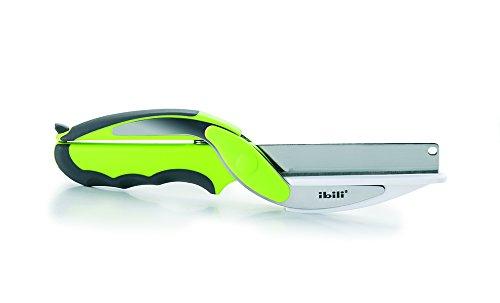 IBILI 704910 - Cincel Duo, Acero Inoxidable, Verde, 34 x 5 x 5 cm